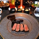 "[VUE] - The highlight at VUE has to be the Kumamoto A5 Emperor ""Kokuou"" Wagyu Sirloin."