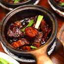 [Jia Bin Klang Bak Kut Teh] - The Jia Bin Dry Bak Kut Teh ($8.80) comes in a sweet reduced dark sauce.