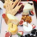 [Marriott Tang Plaza Hotel] - Some of the cheese selection among the festive spread we had during the Christmas function.