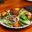[Artichoke] - Same same but still different is the Falafel Salad ($20).