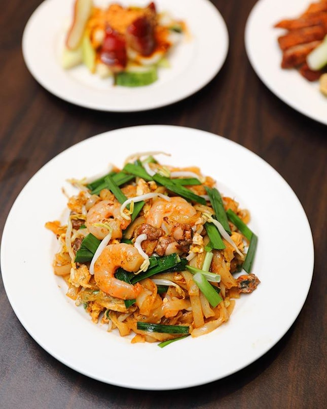 [White Rose Cafe] - Not to be missed is the packed with wok hei Penang Char Kway Teow.