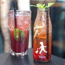 [Hans Im Glück] - Need these thirst quencher for the hot weather, we had their Original Raspberry Basil which mixes the sweet-sour flavour of the raspberry with the peppery notes of basil for a refreshing drink.