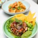 [Tonito] - Mexican Ceviche ($28) and Ceviche Tonito ($28).