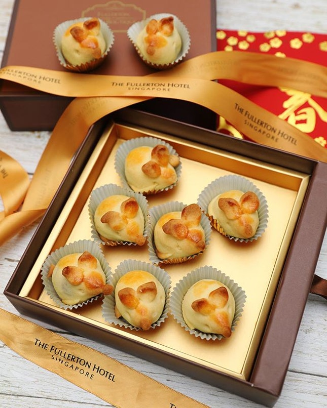 [Jade] - Returning every year in a different Zodiac animal shape, the housemade all-butter Pineapple Cookies are created by Chef Leong and a must for your home.