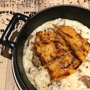 Spicy Pork Belly Risotto