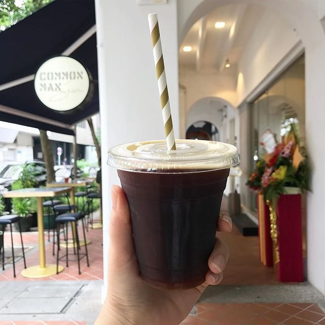Nitro cold brew from this new lovely space, yay to more coffee choices in the cbd to survive the day!