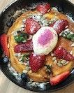 Berry Ricotta Hotcake ($16.50)