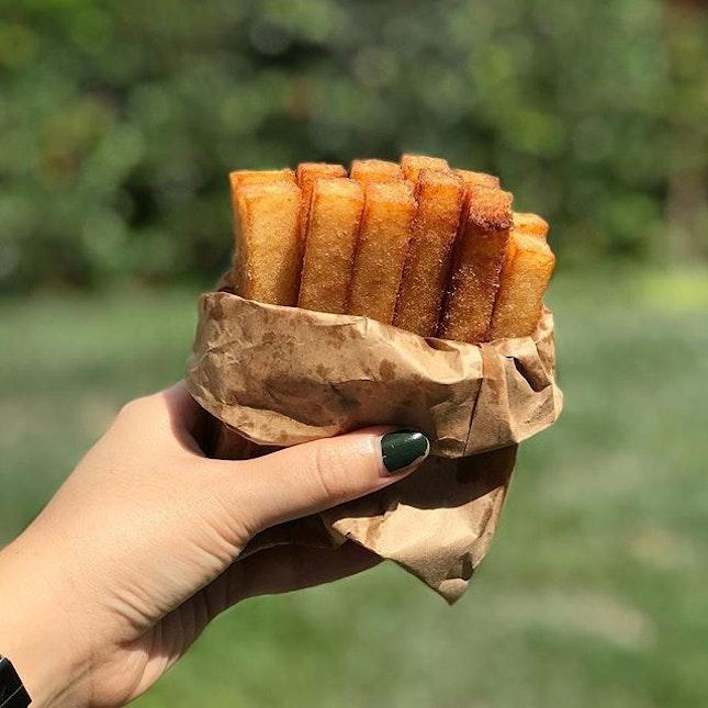 Carrot Cake Sticks ($2 For 12 Pieces)