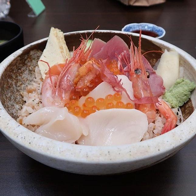 Jin Chirashi Bowl ($35++)