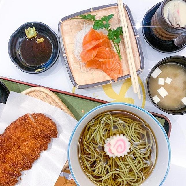 Chicken Katsu With Soba / Mini Snow Beef Don