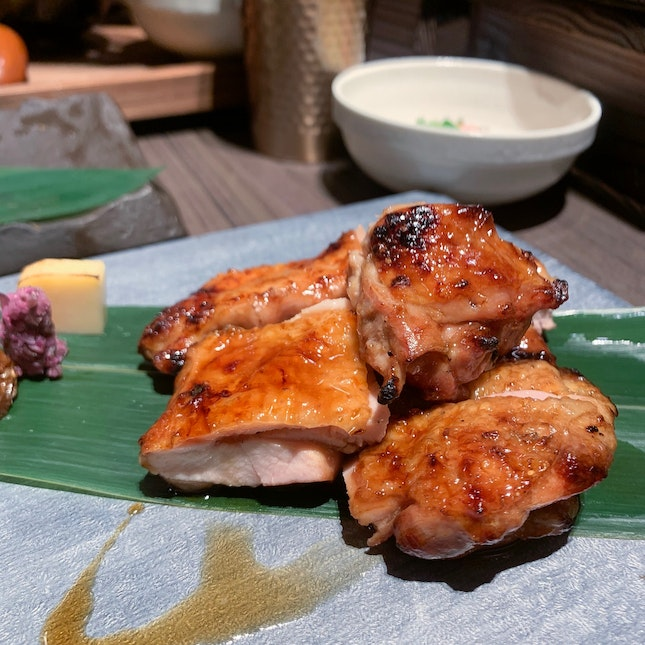 Charcoal Grilled Teriyaki Chicken ($10.90)