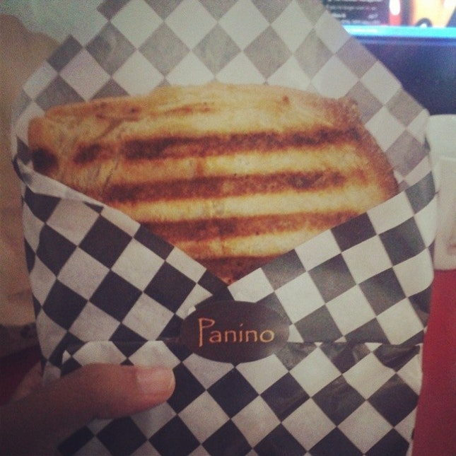 Craved a cheesy BBQ panini with nai miris sauce for months, gave into Panino.