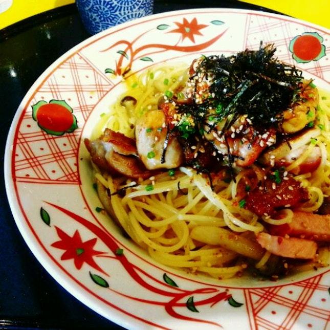 Japanese Style Yakitori With Mushroom