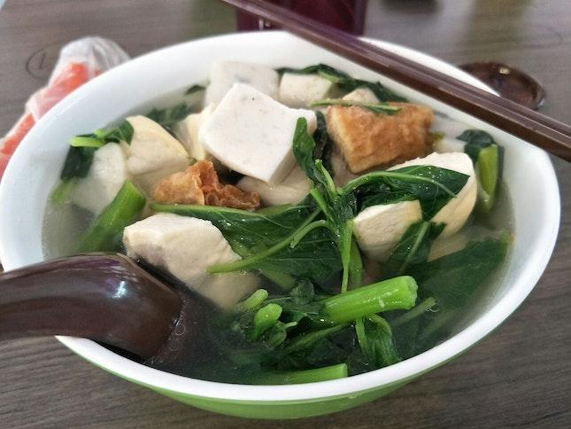 Yong Tau Foo Beehoon Soup ($4.50)