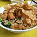 Yong Tau Foo Dry With Special Meat Sauce ($12)