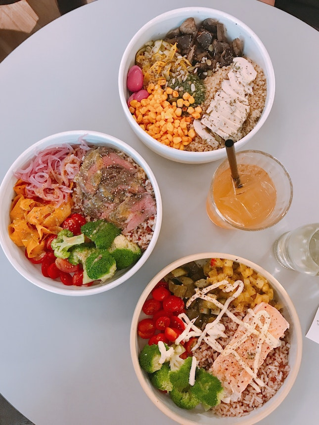 Signature Lunch Bowls (nett $15-$16 each)