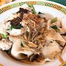 Mee Hoon Kueh Dry ($4)
