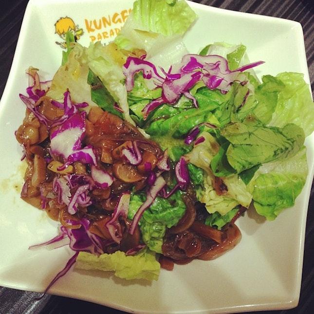 #mushroom #salad