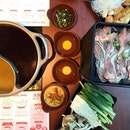 Cold weather calls for some soupy steamboat!