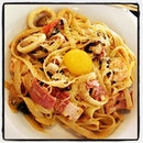 Nourishment and indulgences coupled together ☺ the Sea Food  Fettuccine!