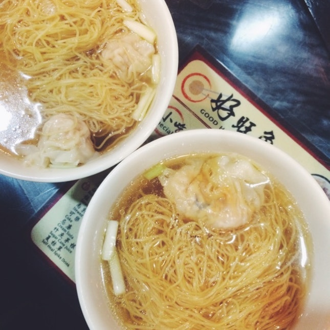 Wonton And Dumpling Noodles