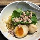Onsen Egg Bak Chor Mee