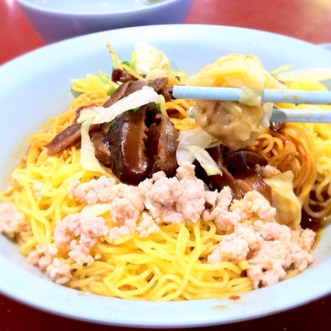 Wheres Your Fav Bak Chor Mee? This Comes With The Meat Inside The Soup. Hmm