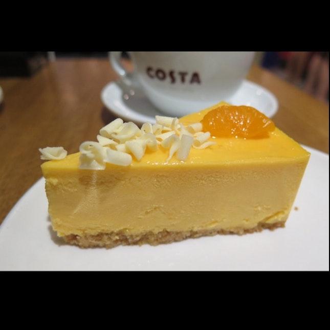 Mango Orange Cheese Cake