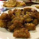 Deep Fried Chicken With Garlic ($10)