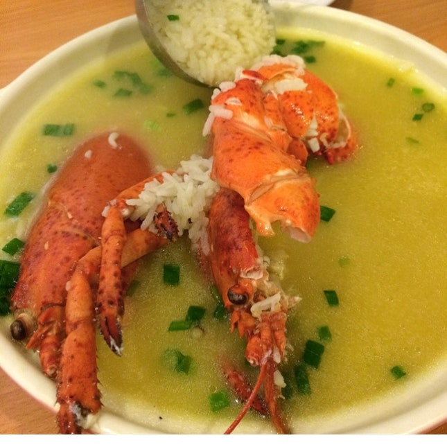 Signature Lobster Porridge