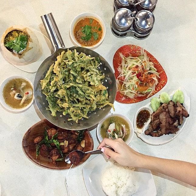 No Frills Thai Meal