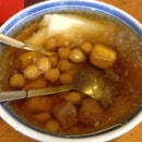 Yam Balls And Soy Beancurd