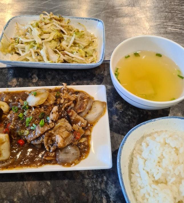 Pork Lunch Set