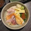 Kuro Kin Chirashi Sushi.