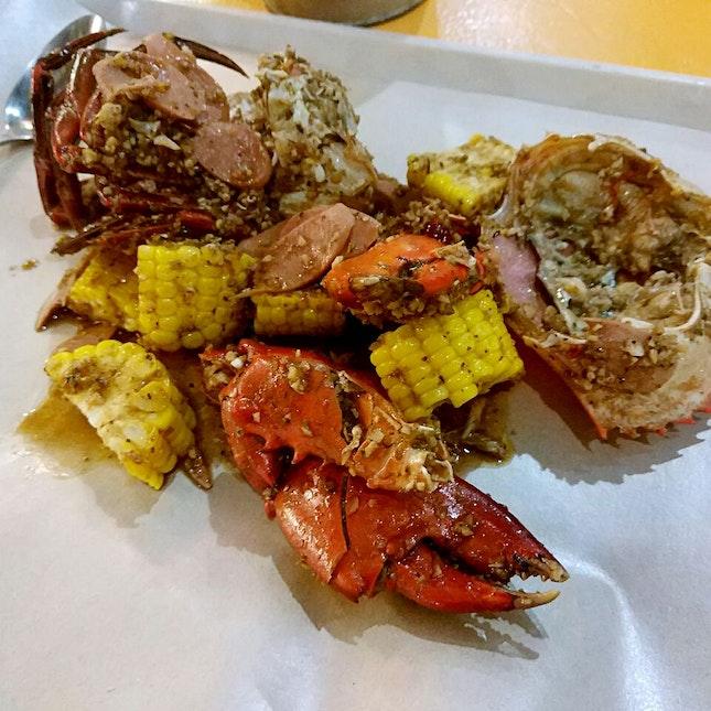 Cajun Style Crab $30