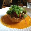 Crab Tart ($32++)