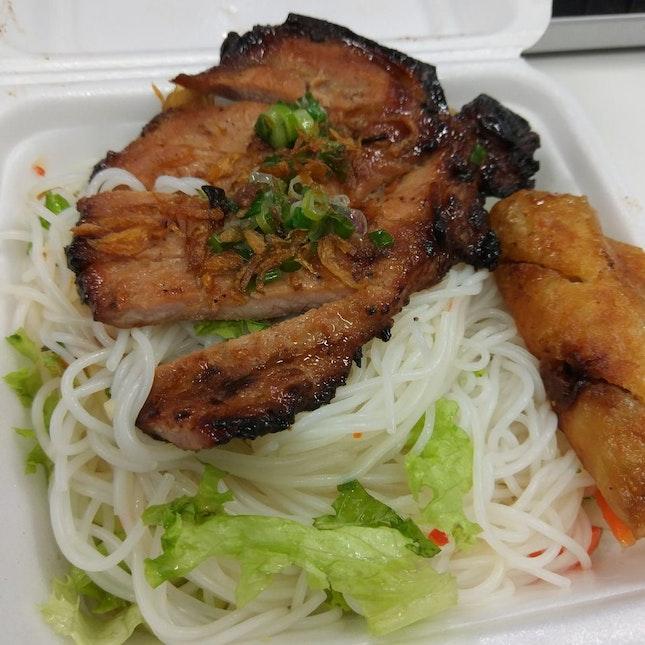 MealPal #9/16: Grilled Pork Noodle