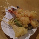 Tempura That They Fry For You On Thr Spot.