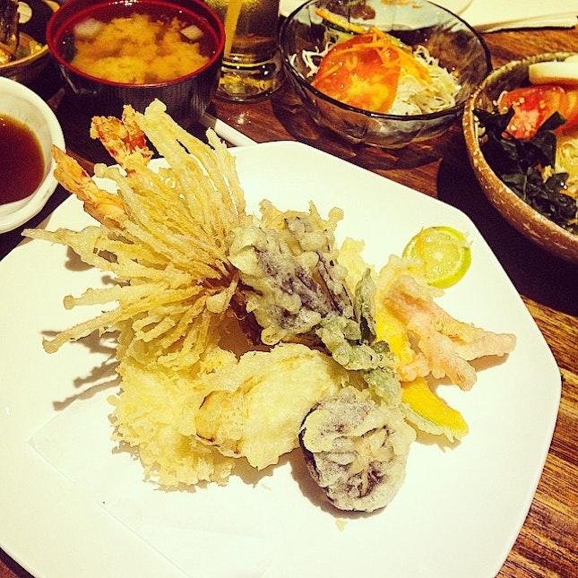 Tempura Set #food
