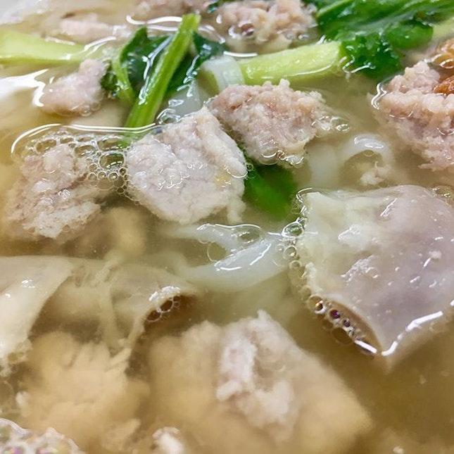 Pork noodles or Chu Yok Fun.