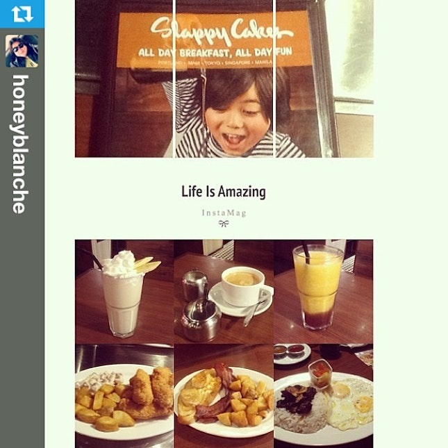 #Repost from @honeyblanche with @repostapp #laterepost --- #breakfast 😃 with @hazelbeverly08