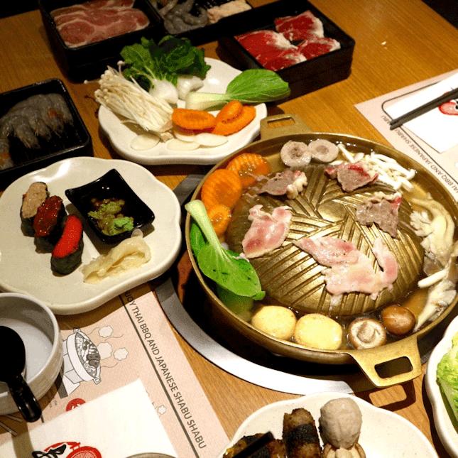 For Buffet-Style BBQ and Shabu-shabu