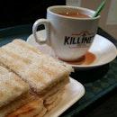 #Killiney Kaya Toast and Tea to start the day.