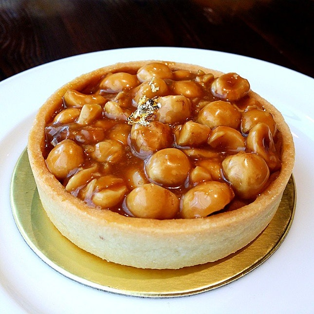 Caramel Hazelnut Tart, my favourite!!