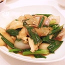 Sliced Fish with Onion