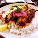 Sambal Salmon Rice.
