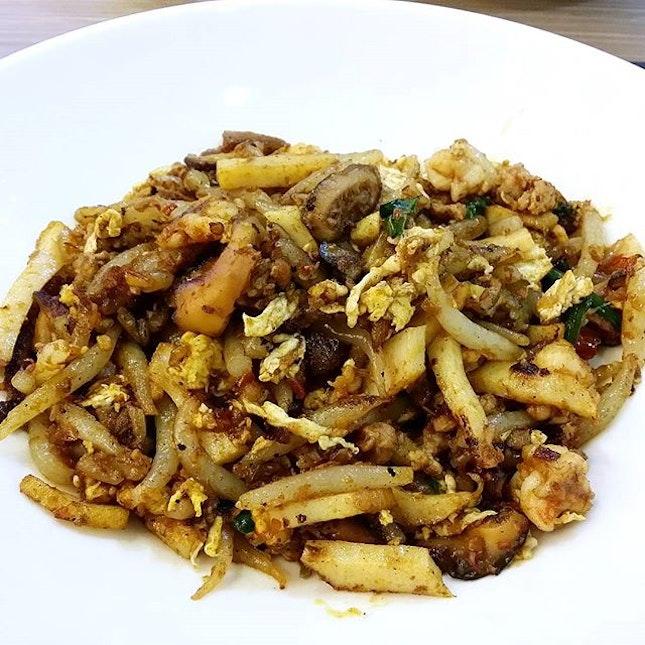 I love to eat Fried Mee Tai Mak.
