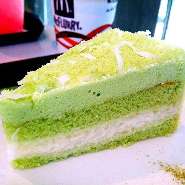 Love this Kueh Salat cake from McDonalds.