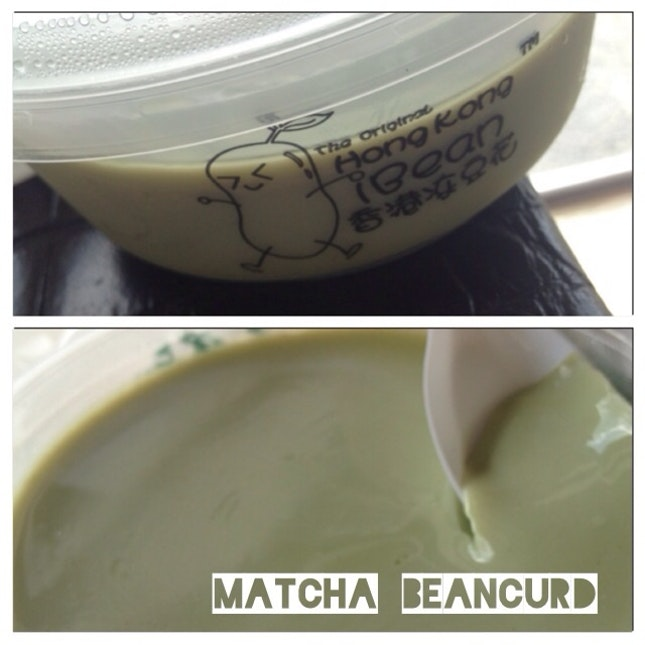 Matcha Beancurd