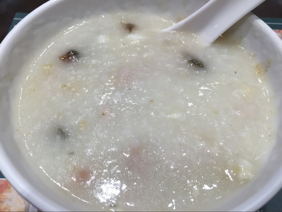 Century Egg Porridge With Lean Meat & Salted Egg